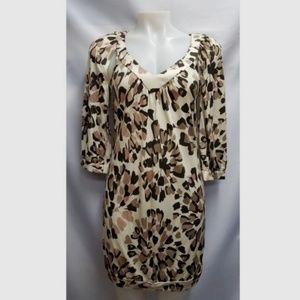 Trina Turk 100% Silk Animal Leopard Print Dress 2